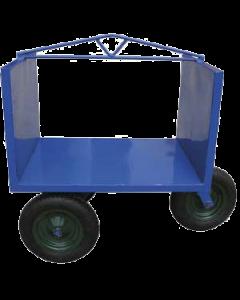 Carro ladrillero de 3 ruedas neumáticas