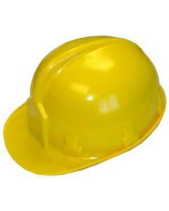 Casco de protección amarillo