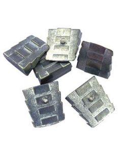 Cuñas metálicas pequeñas bolsa 6 unidades