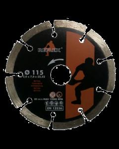 Disco diamante de 115 mm segmentado general de obra
