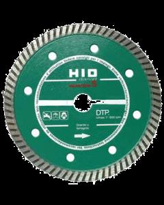 Disco diamante de 115 mm continuo para materiales duros