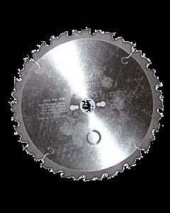 Disco widia de 24 dientes de 315 x 30 mm anticlavos (tronzadora)
