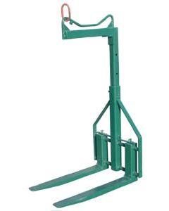 Elevador regulable en ancho hasta 1500 kg
