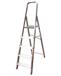 Escalera doméstica de 5 peldaños de 1.02 m