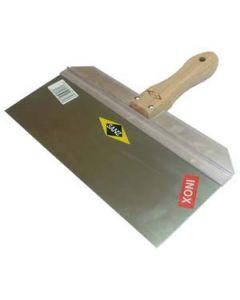 Espátula aluminio/inoxidable H. Ancha 300 mm
