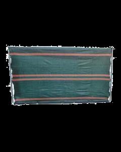 Malla confeccionada para valla móvil de 2 x 3.5 m negro