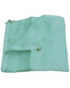 Malla para protección andamios de 3 x 10 m verde con ojales