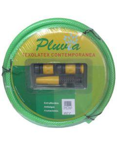 Manguera de jardinería de 15 mm x 20 m kit