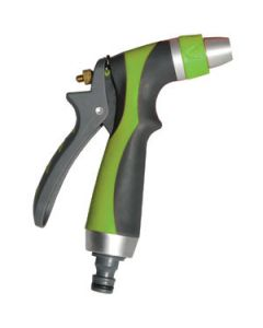 Pistola metálica para manguera