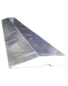 Regle trapezoidal de aluminio de 1.5 m monocapa