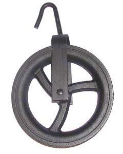 Polea de fundición de 20 cm