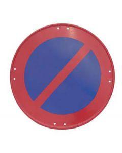 Señal metálica prohibido estacionar
