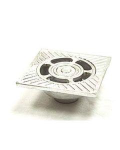Sumidero de aluminio de 10 x 10 cm Ø de salida 40