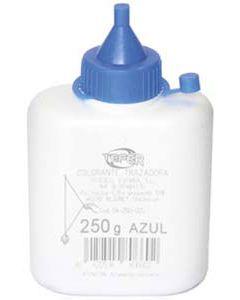 Polvo colorante azul de 250 grs