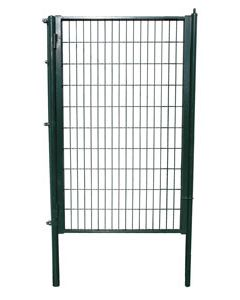 Puerta enrejado plastificada verde simple 0.90 x 2 m