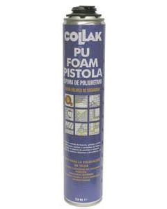 Espuma de poliuretano aerosol de 750 ml para pistola