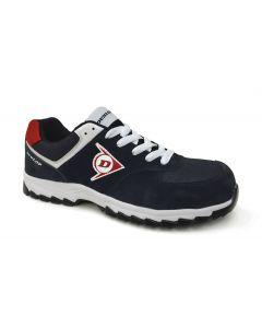 Zapato de seguridad DUNLOP FLYING ARROW negro/rojo (nº 38-47)